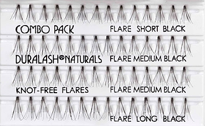 f4acae6dc8b ARDELL Individual KNOT FREE Lashes - COMBO black. Ardell Individual KF combo  aus