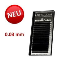 X-D Volume Lashes C-Curl 0.03 - MIX-Box