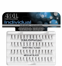 ARDELL Individual KNOT FREE Lashes - medium black