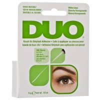 DUO Brush-On Wimpernkleber für Strip Lashes 5 g - CLEAR