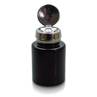 Menda Pump-Dispenser 100 ml Glas schwarz