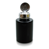 Menda Pump-Dispenser 200 ml Glas schwarz